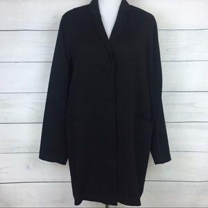 Eileen Fisher Long Black Blazer Jacket